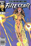 Cover for Firestar (Marvel, 1986 series) #4 [Newsstand Edition]