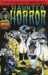 Cover Thumbnail for Haunted Horror (IDW, 2012 series) #25