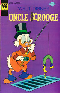 Cover Thumbnail for Uncle Scrooge (Western, 1963 series) #120 [Whitman]