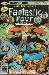 Cover Thumbnail for Fantastic Four Annual (Marvel, 1963 series) #14 [Direct]