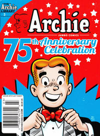 Cover Thumbnail for Archie Spotlight Digest: Archie 75th Anniversary Digest (Archie, 2016 series) #3 [Newsstand - Frese and Pena]