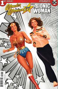 Cover Thumbnail for Wonder Woman '77 Meets the Bionic Woman (Dynamite Entertainment, 2016 series) #1 [Retailer Incentive 'Spot Color' Ross]