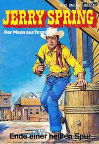 Cover Thumbnail for Jerry Spring (Bastei Verlag, 1972 series) #13