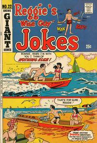 Cover Thumbnail for Reggie's Wise Guy Jokes (Archie, 1968 series) #22