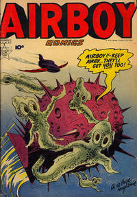 Cover Thumbnail for Airboy Comics (Export Publishing, 1950 series) #2
