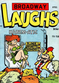Cover Thumbnail for Broadway Laughs (Prize, 1950 series) #v14#12