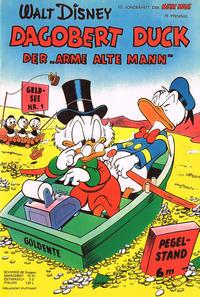 """Cover Thumbnail for Micky Maus Sonderheft (Egmont Ehapa, 1951 series) #10 - Der """"arme alte Mann"""""""