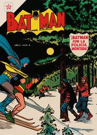 Cover Thumbnail for Batman (Editorial Novaro, 1954 series) #6