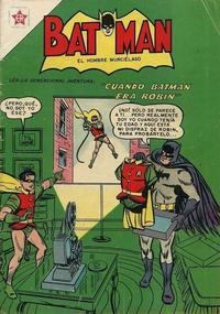 Cover Thumbnail for Batman (Editorial Novaro, 1954 series) #33