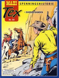 Cover Thumbnail for Maxi Tex (Hjemmet / Egmont, 2008 series) #50