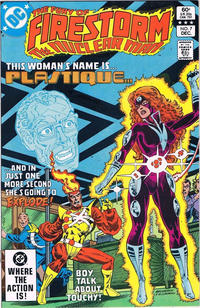Cover Thumbnail for The Fury of Firestorm (DC, 1982 series) #7 [Direct Edition]