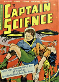 Cover Thumbnail for Captain Science (Cartoon Art, 1951 series) #2