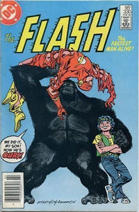 Cover for The Flash (DC, 1959 series) #330 [Newsstand]