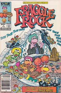 Cover Thumbnail for Fraggle Rock (Marvel, 1985 series) #1 [Newsstand]
