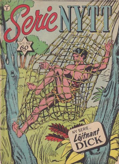Cover for Serie-nytt [Serienytt] (Formatic, 1957 series) #15/1958
