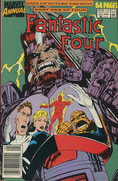 Cover for Fantastic Four Annual (Marvel, 1963 series) #23 [Direct Edition]