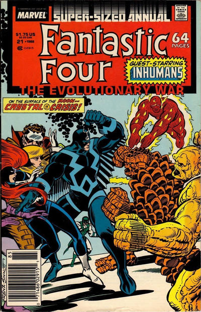 Cover for Fantastic Four Annual (Marvel, 1963 series) #21 [Direct Edition]