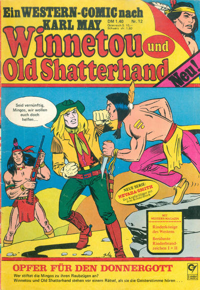 Cover for Winnetou und Old Shatterhand (Condor, 1977 series) #12