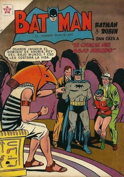 Cover for Batman (Editorial Novaro, 1954 series) #73