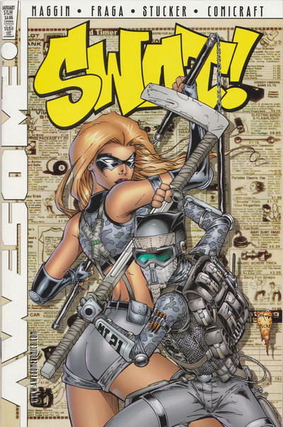 Cover for Fighting American: Rules of the Game (Awesome, 1997 series) #2 [Cover C]