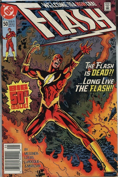 Cover for Flash (DC, 1987 series) #50 [Direct Edition]