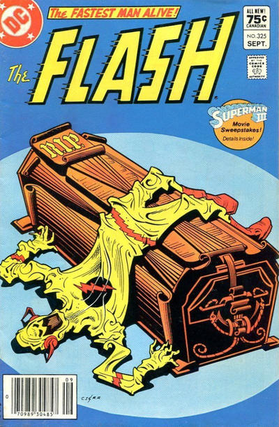 Cover for The Flash (DC, 1959 series) #325 [Direct Edition]