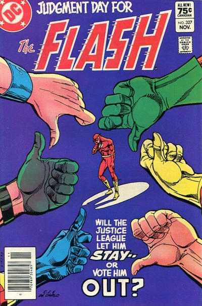 Cover for The Flash (DC, 1959 series) #327 [Direct-Sales]