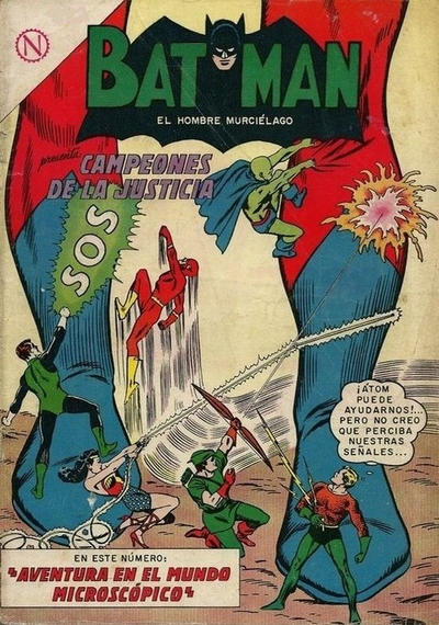 Cover for Batman (Editorial Novaro, 1954 series) #219