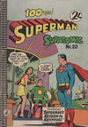 Cover for Superman Supacomic (K. G. Murray, 1959 series) #20