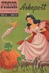 Cover for Junior Eventyrbladet [Eventyrbladet] (Illustrerte Klassikere / Williams Forlag, 1957 series) #14 - Askepott