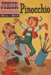 Cover for Junior Eventyrbladet [Eventyrbladet] (Illustrerte Klassikere / Williams Forlag, 1957 series) #13 - Pinocchio