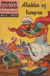 Cover for Junior Eventyrbladet [Eventyrbladet] (Illustrerte Klassikere / Williams Forlag, 1957 series) #17 - Aladdin og lampen