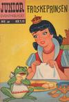Cover for Junior Eventyrbladet [Eventyrbladet] (Illustrerte Klassikere / Williams Forlag, 1957 series) #20 - Froskeprinsen