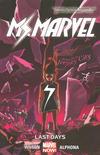 Cover for Ms. Marvel (Marvel, 2014 series) #4 - Last Days