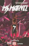 Cover for Ms. Marvel (Marvel, 2014 series) #4 - Last Days