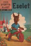 Cover for Junior Eventyrbladet [Eventyrbladet] (Illustrerte Klassikere / Williams Forlag, 1957 series) #27 - Eselet