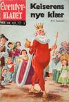 Cover for Junior Eventyrbladet [Eventyrbladet] (Illustrerte Klassikere / Williams Forlag, 1957 series) #40 - Keiserens nye klær