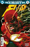 Cover Thumbnail for The Flash (2016 series) #12 [Dave Johnson Variant Cover]