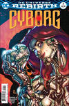 Cover for Cyborg (DC, 2016 series) #7 [Carlos D'Anda Variant Cover]
