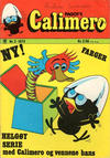 Cover for Calimero (Illustrerte Klassikere / Williams Forlag, 1973 series) #2/1973