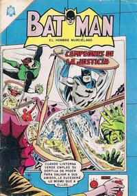 Cover Thumbnail for Batman (Editorial Novaro, 1954 series) #261