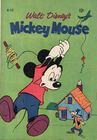 Cover Thumbnail for Walt Disney's Mickey Mouse (W. G. Publications; Wogan Publications, 1956 series) #119