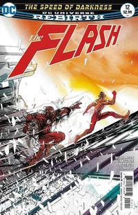 Cover Thumbnail for The Flash (DC, 2016 series) #12 [Carmine Di Giandomenico Cover]
