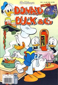 Cover Thumbnail for Donald Duck & Co (Hjemmet / Egmont, 1948 series) #3/1999