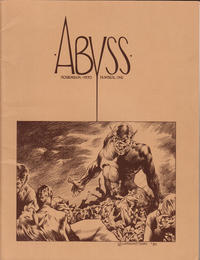Cover Thumbnail for Abyss (Abyss Publications, 1970 series) #1