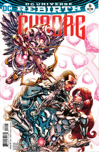 Cover Thumbnail for Cyborg (DC, 2016 series) #6 [Carlos D'Anda Variant Cover]