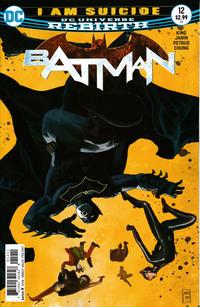 Cover Thumbnail for Batman (DC, 2016 series) #12
