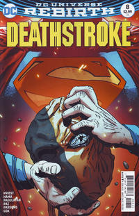 Cover Thumbnail for Deathstroke (DC, 2016 series) #8