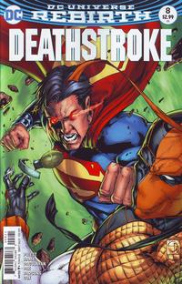 Cover Thumbnail for Deathstroke (DC, 2016 series) #8 [Shane Davis Cover]