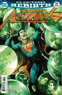 Cover Thumbnail for Action Comics (DC, 2011 series) #969 [Gary Frank Cover Variant]